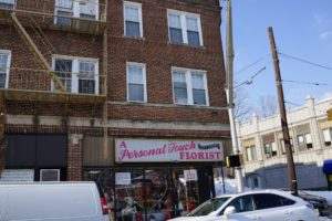 On the corner of Franklin Avenue and Chestnut Street was a luncheonette, a favorite high school hangout.  It is now a florist.