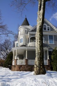 I've always like this house - another great Victorian with round turrets and spacious porches.