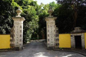 The entrance to Vizcaya