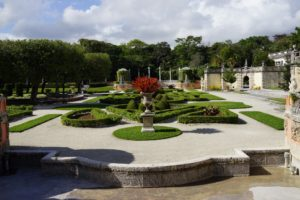 The gardens of Vizcaya are reminiscent of gardens created in 17th and 18th century Italy and France.  The overall landscape design is conceived as a series of rooms.