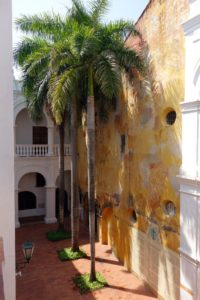 Many civic buildings are used to display art and culture.  The courtyards are beautiful with giant royal palm trees.