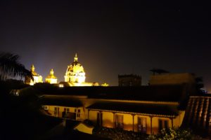 This is the view of the cathedral taken from a friend's rooftop.