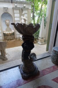 This is the other side of the Blackamoor mermaid in our photo. It is one of a pair in the home.