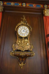 John's clock from Europe - another valuable find from his travels abroad.