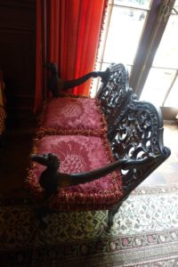 These are the gondola chairs - original to the gondola when it was one piece.