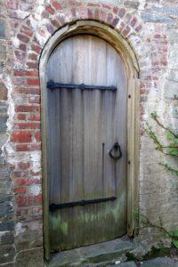 A handsome old door