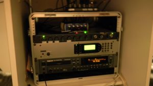 This is called an ISDN - the controls and mechanics of the room.