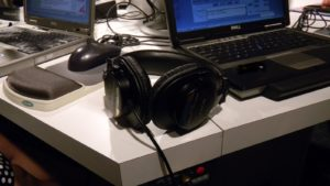 The headset.