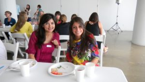 Angelica, a Finance Intern and Amy, a Consumer Marketing Intern, have become good friends working together.