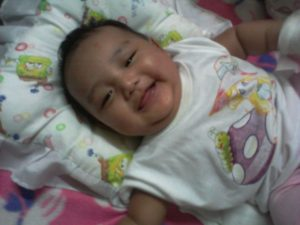 Deiza Mei 3, months old