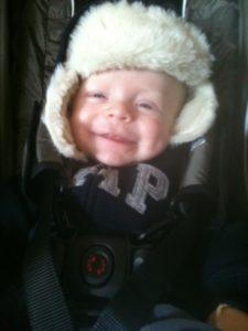 Ellis, age 4 months