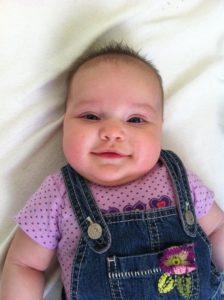 Frances Adeline, 3 months