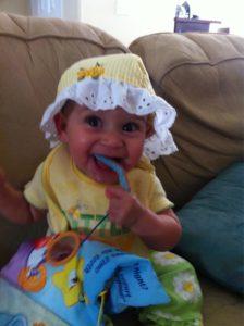 Hannah Marie, 8 months old