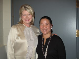 Here I am with Oprah's chef Rose Duong.