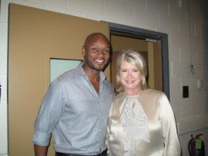 Ross Burton, Oprah makeup artist and me