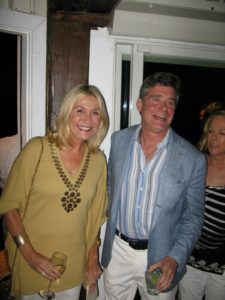Susan Magrino and her old friend Jay McInerney and wife Anne Hearst