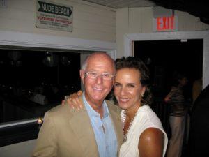 Charles and his fiance, Gerri Kyhill