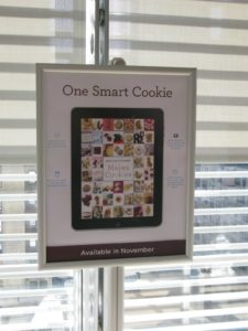 I'm really proud of our new and gorgeously designed 'cookie app' for the iPad.  Look for its debut on November 1st.
