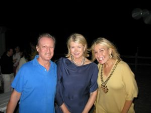 The indomitable Patrick McCarthy - photographer, me, and Susan Magrino