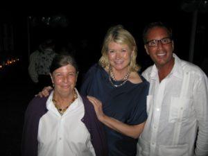 Nan Bush - Bruce Weber's wife, me, and Harry Slatkin