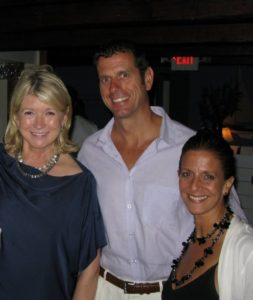 Here I am with Richard Decker and his wife, Gina.  Richard runs my daughter's three gyms in the Hamptons - East Hampton, Southampton, and Sag Harbor.