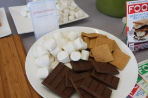 And s'mores!