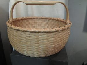 This is a small collectible Maine potato basket.