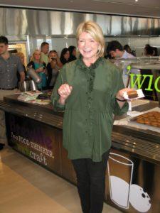Sisha Ortuzar of 'wichcraft prepared peanut butter cream'wiches and chocolate cream'wiches.  Yum!  www.wichcraftnyc.com