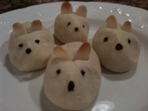 Brian Utz from Hanover, PA made mice cookies, a recipe from my Cookies iPad app.
