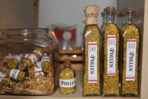 Bee Pollen is one of the richest and purest natural foods and the incredible nutritional and medicinal value of pollen has been known for centuries.  It is said to regulate blood pressure and lower cholesterol.