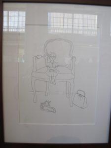 Jessica Rounds - 'Portrait' - pencil on paper