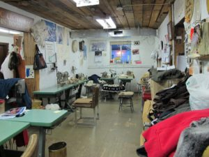 This is the little Trading Post in Churchill Canada.