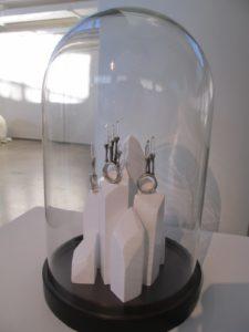 Hosanna Houser - 'Untitled' - sterling silver, quartz crystal