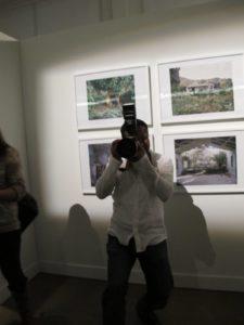 Ron Palacio always has his camera in hand.