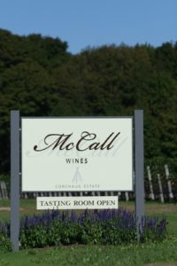 McCall Wines sits upon land known as Fort Corchaug, from which Cutchogue gets its name.  The fort was a cultural center of the Corchaug Indian tribe, which once occupied the North Fork of Long Island.