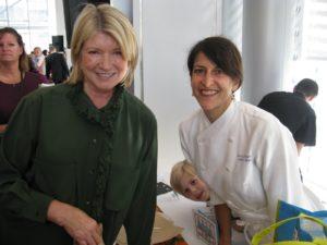 It was nice seeing Amy Scherber of Amy's Bread.  www.amysbread.com