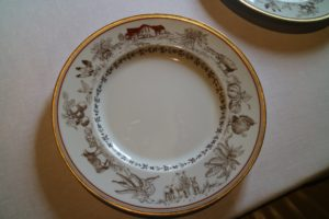 The farm designed plate sketches were done by Blackberry Farm's master gardener, John Coykendall.