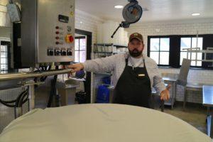 Chris Osborne is Blackberry Farm's master cheesemaker.
