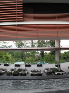 Capella is located on Sentosa Island - 'Sentosa' in Malay means 'peace and tranquility.'