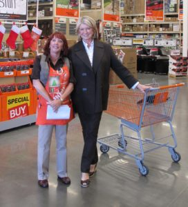 Julie, an associate greeted me.