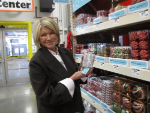 I bought some of this great Martha Stewart beaded garland.