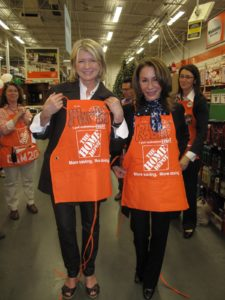 Robin Marino and I were presented with our very own aprons.