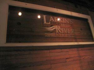 Larkin's on the River is a very popular restaurant located in downtown Greenville.