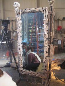 A large mummy mirror