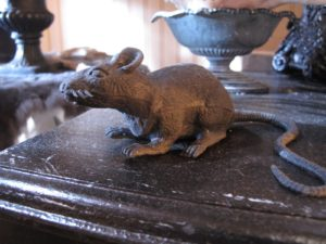 And of course, a rat!