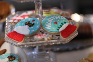 These are Dani Fiori's cookies made on my TV show.
