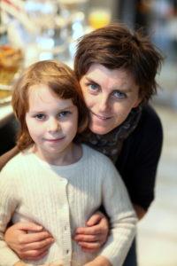 Ellen Morrissey and her daughter Nora.