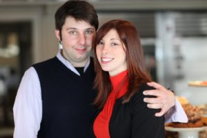 Eliad Laskin and his wife, Katie
