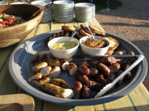 The sausages from Schaller & Weber http://www.schallerweber.com/ were a big hit.
