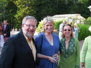 Here I am with David Rockefeller Jr. and his wife, Susan.